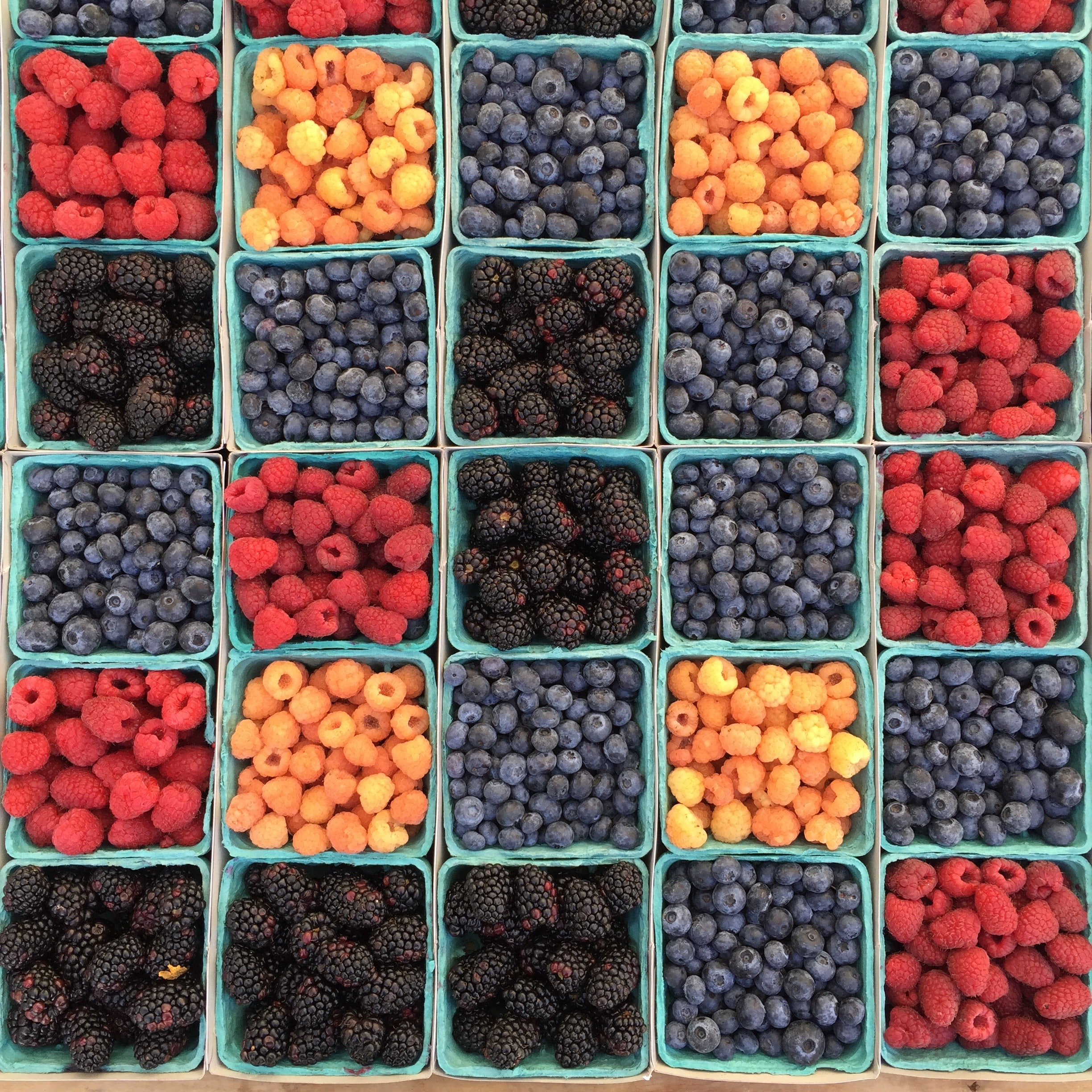 Berries are high in phytoestrogens and therefore, very good for your womb!